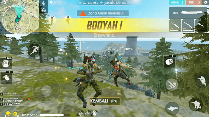 Tips Cara Bermain Menang Terus di Turnamen Game Free Fire